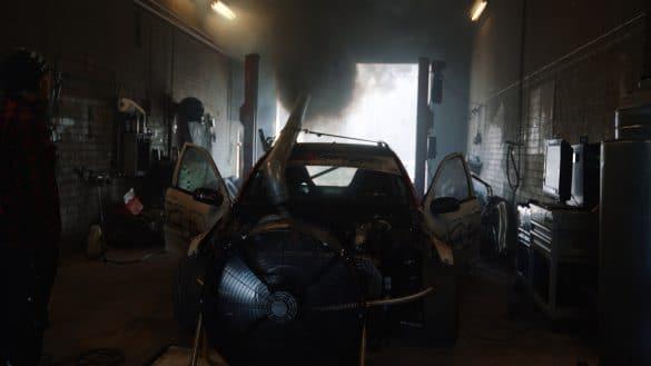 black smoke om648 diesel race car