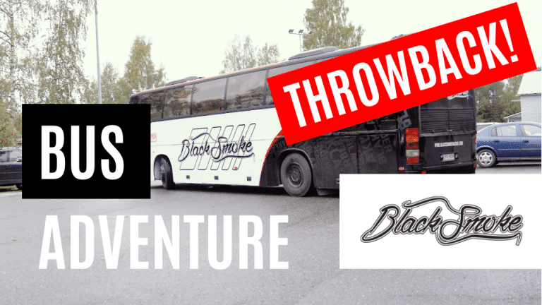 Throwback video! – Bus field repairs!
