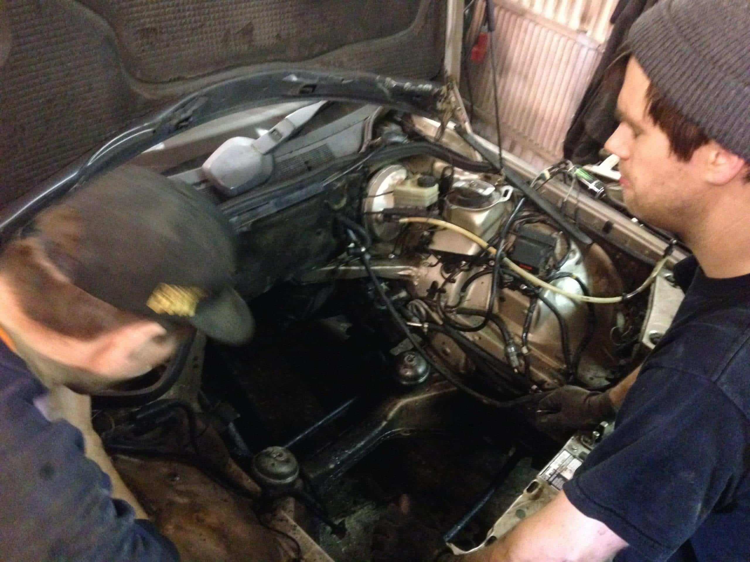Street legal turbodiesel – Part 3 – New engine, fixing the head.