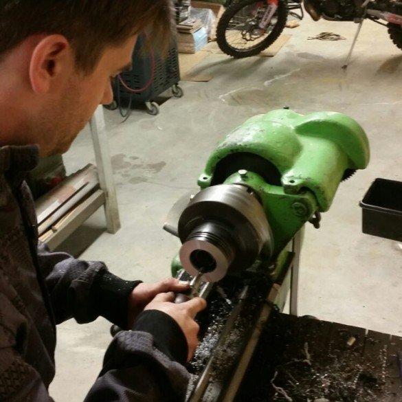 We'll test the new piston asap.