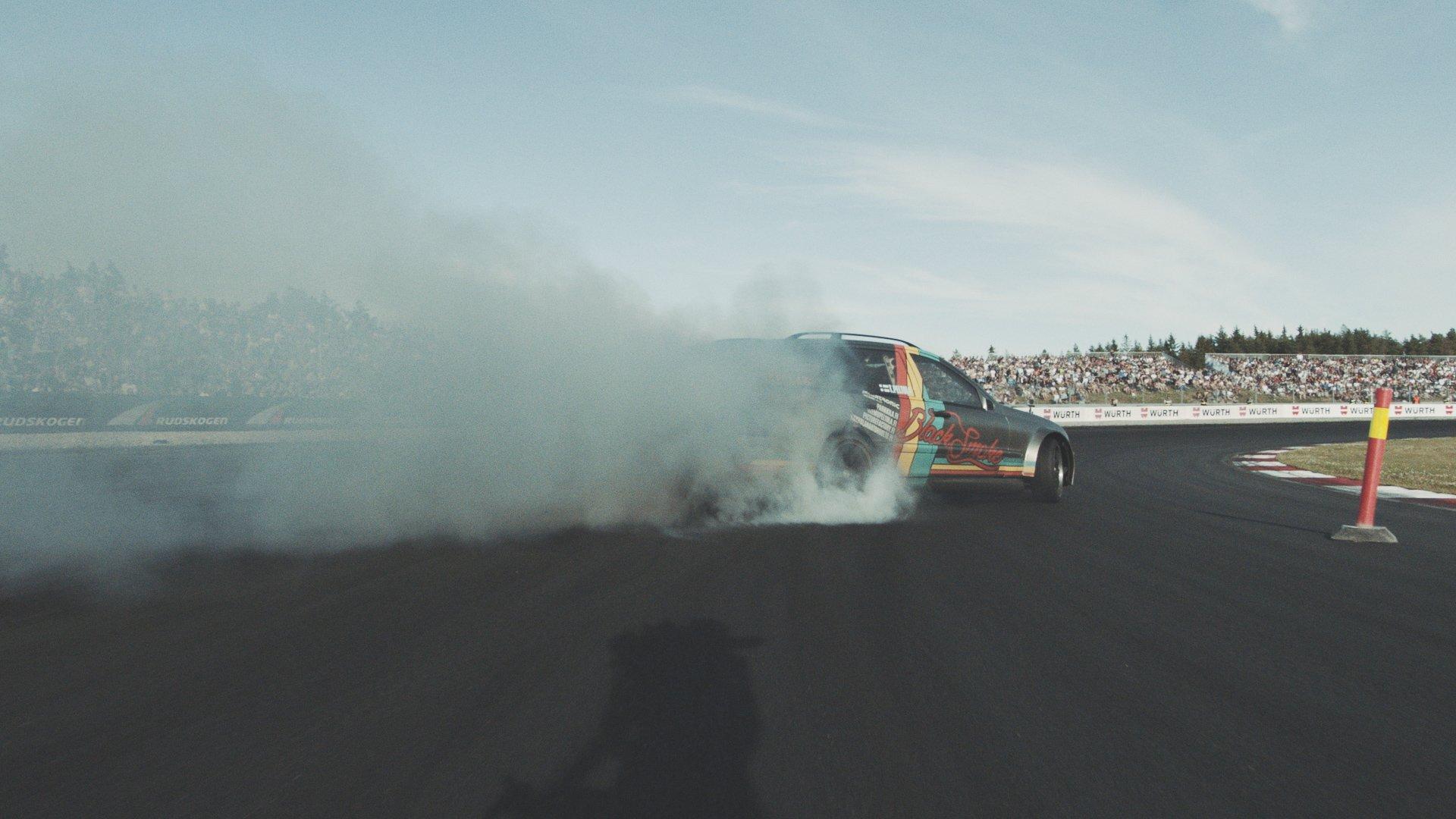 Black Smoke - Gatebil Rudskogen 2015 video