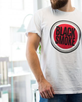 Black smoke t shirt