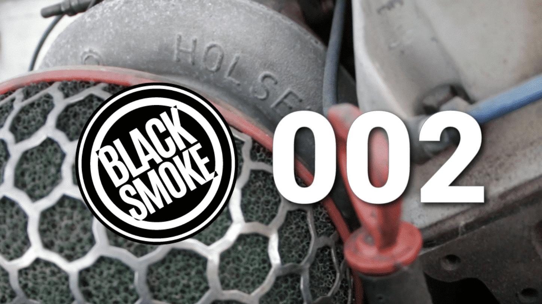 Black Smoke Garbage Garage