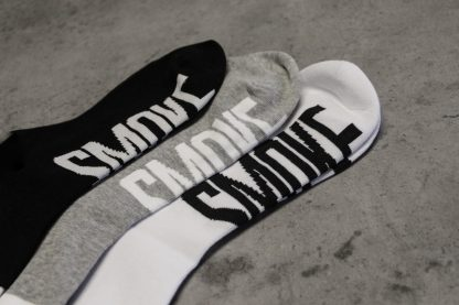 black smoke socks