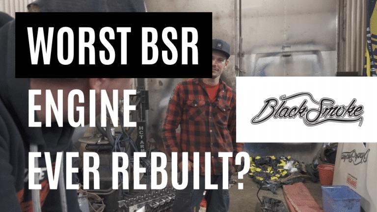 Engine rebuild before our Belarus trip, after the catastrophe at Kemora – Garbage garage 21-2019